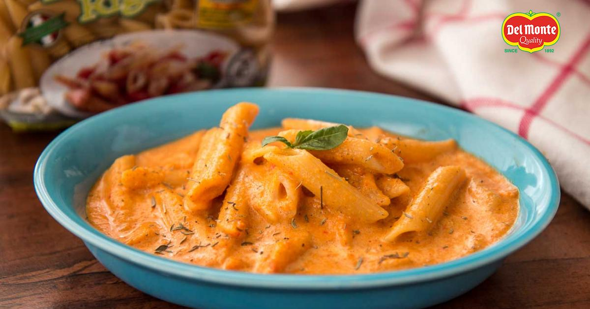 Veggie Penne Pasta In Creamy Roasted Carrot Sauce By Archanas Kitchen