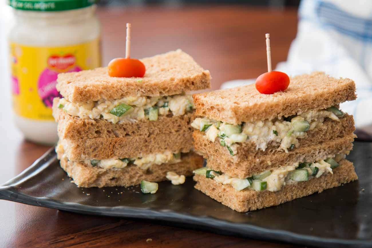 Creamy Delicious Egg Mayo Sandwich Recipe By Archana S Kitchen