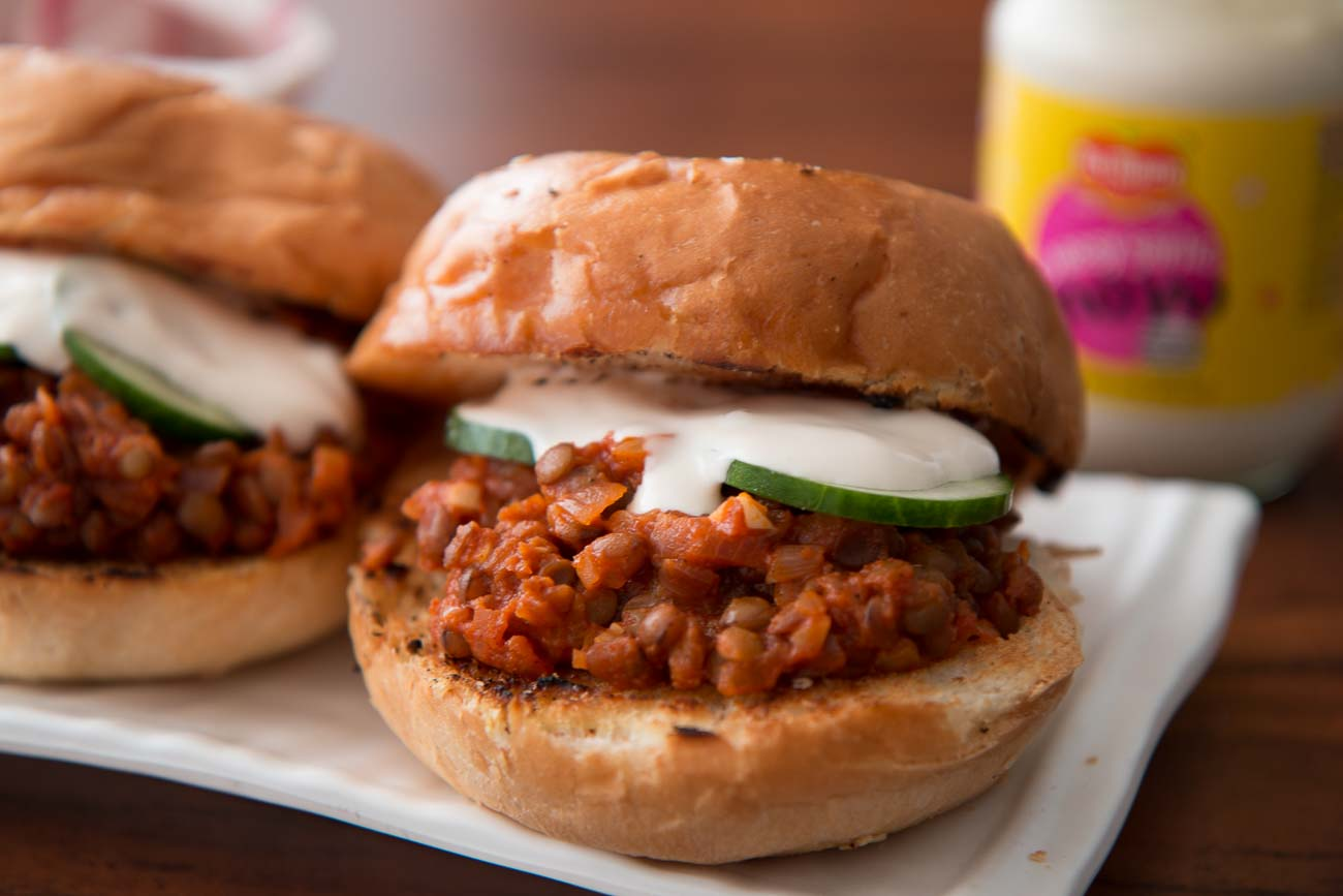 Vegetarian sloppy joe recipe by archanas kitchen vegetarian sloppy joe recipe forumfinder