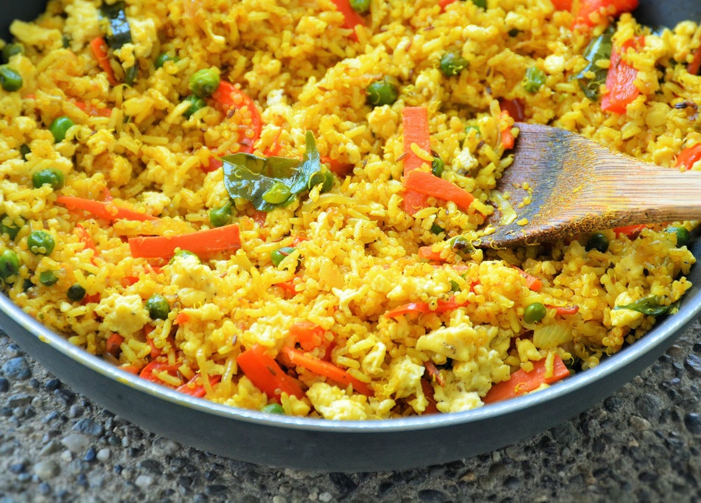 Curry Fried Quinoa Rice Recipe By Archana S Kitchen