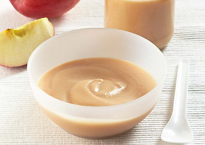 Apple Puree Recipe (Baby Food - 4 months onwards)