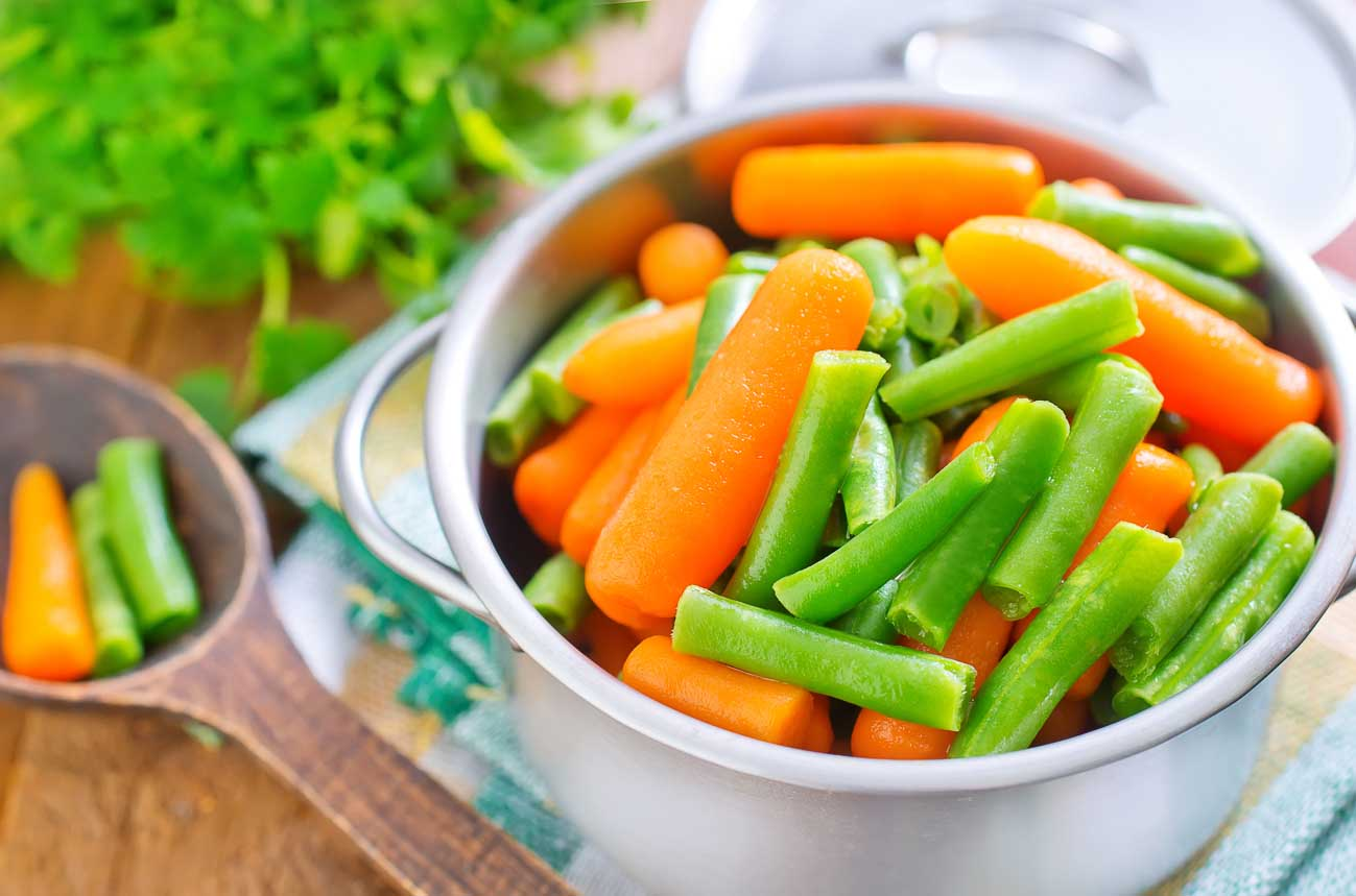 How to Cook Vegetables in a Pressure Cooker