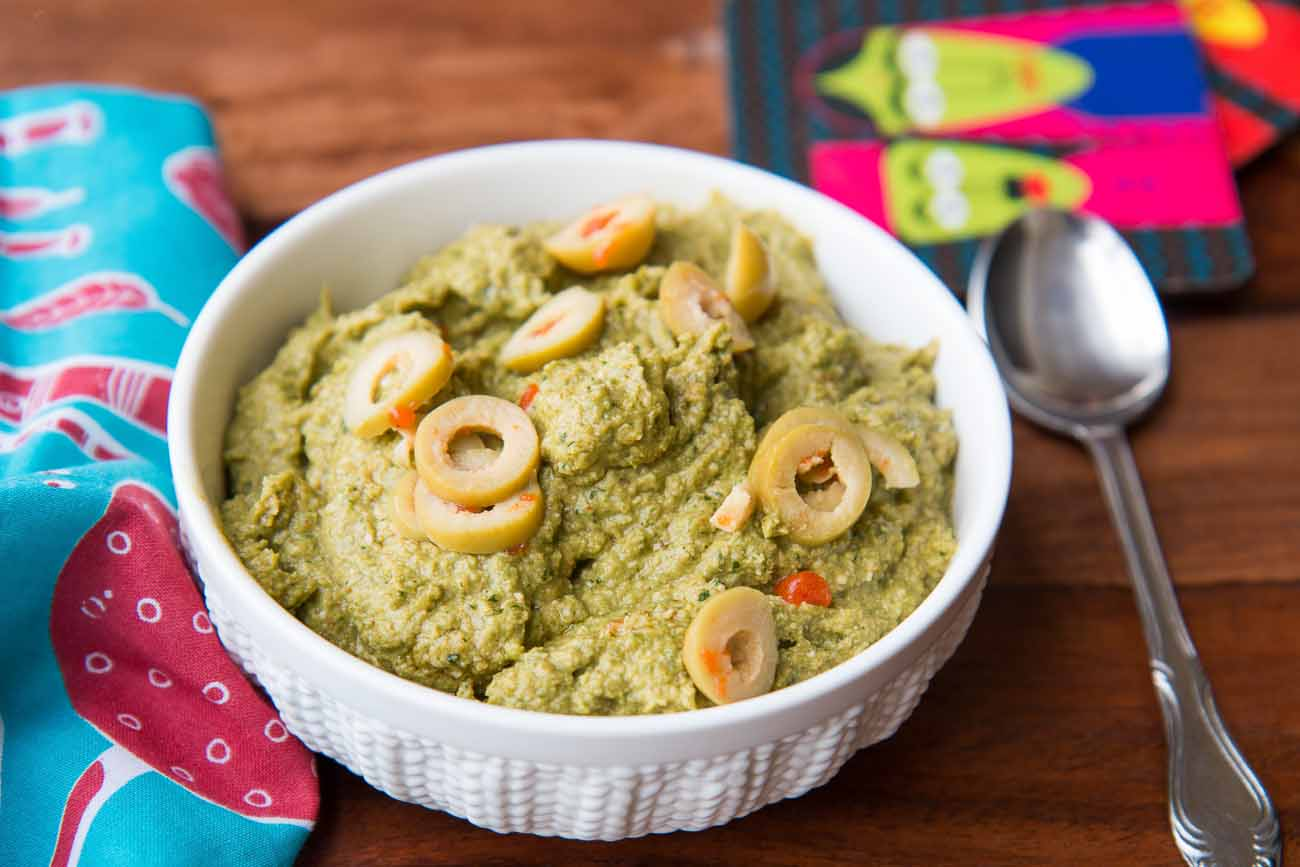 Green Olive Pesto - Pasta Sauce Recipe
