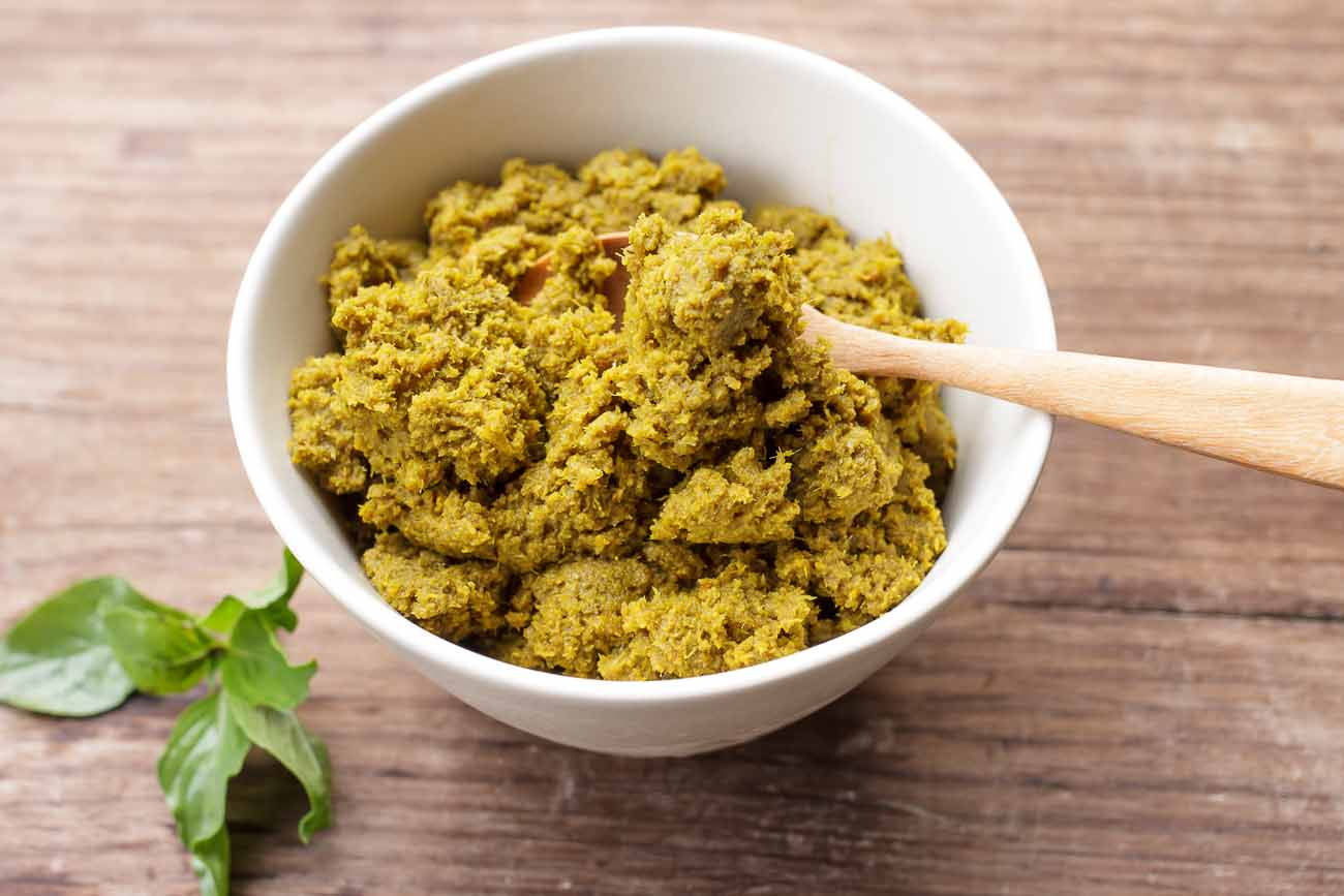 Vegetarian Thai Green Curry Paste Recipe