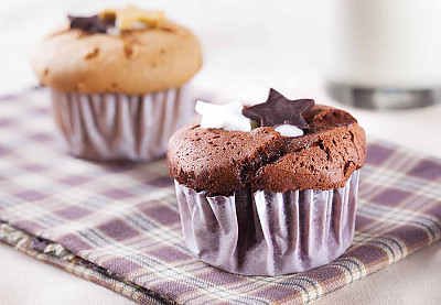 Eggless Quick And Easy Chocolate Cupcake Recipe