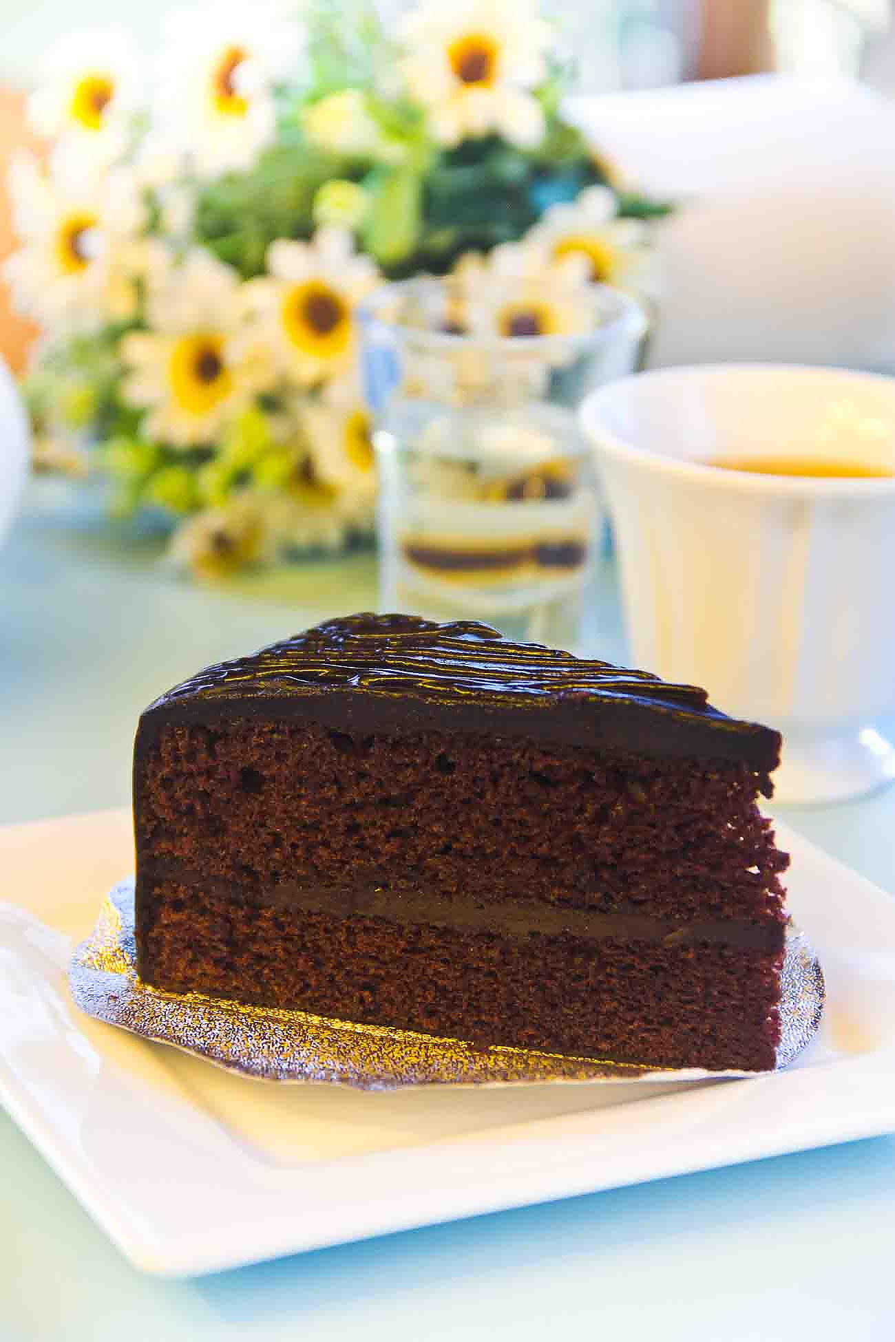 Eggless Devil's Food Cake Recipe
