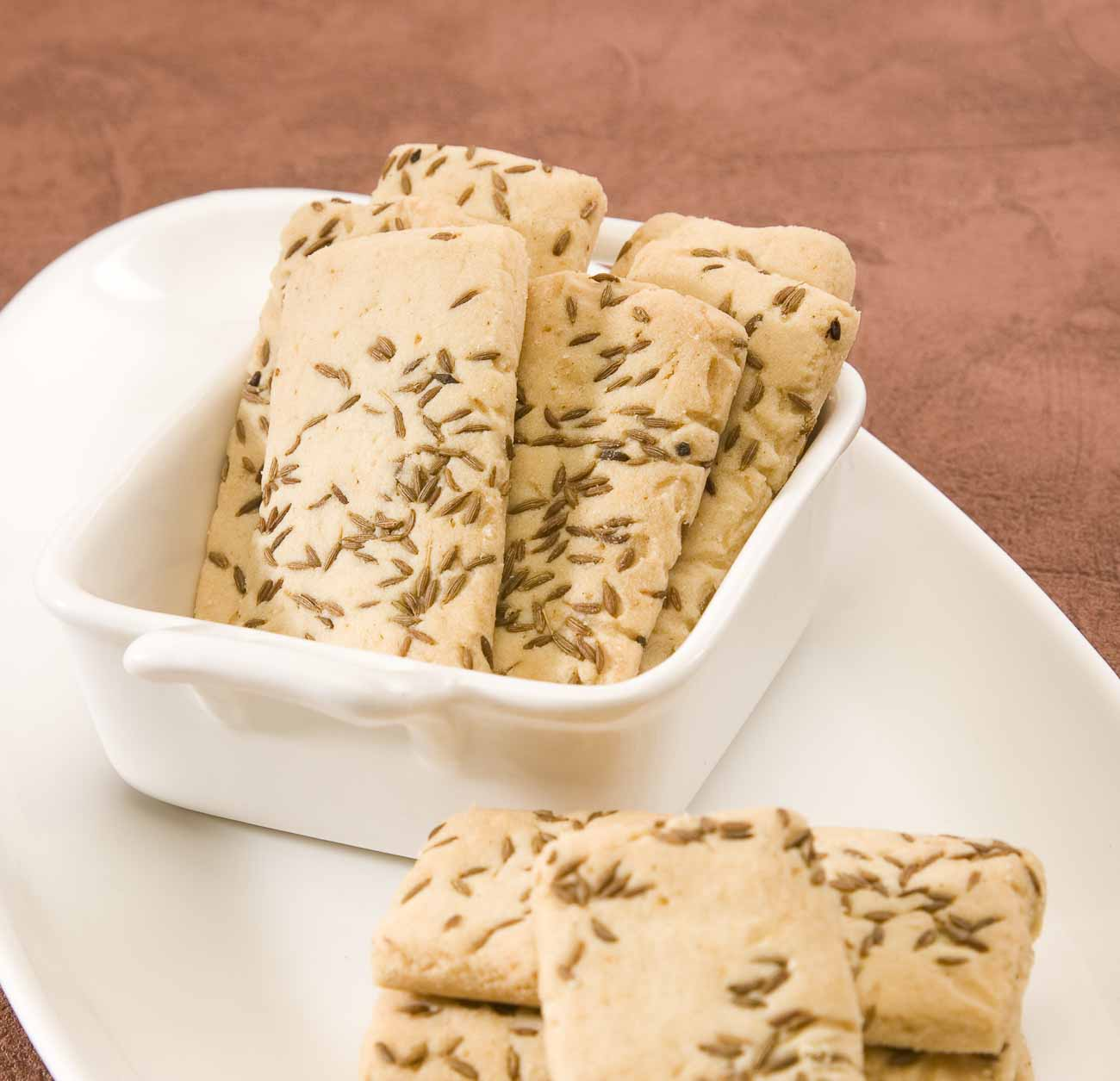 Indian Style Jeera Biscuit Recipe