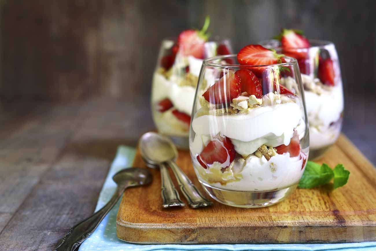 Strawberry Coconut Trifle Pudding Recipe By Archana S Kitchen