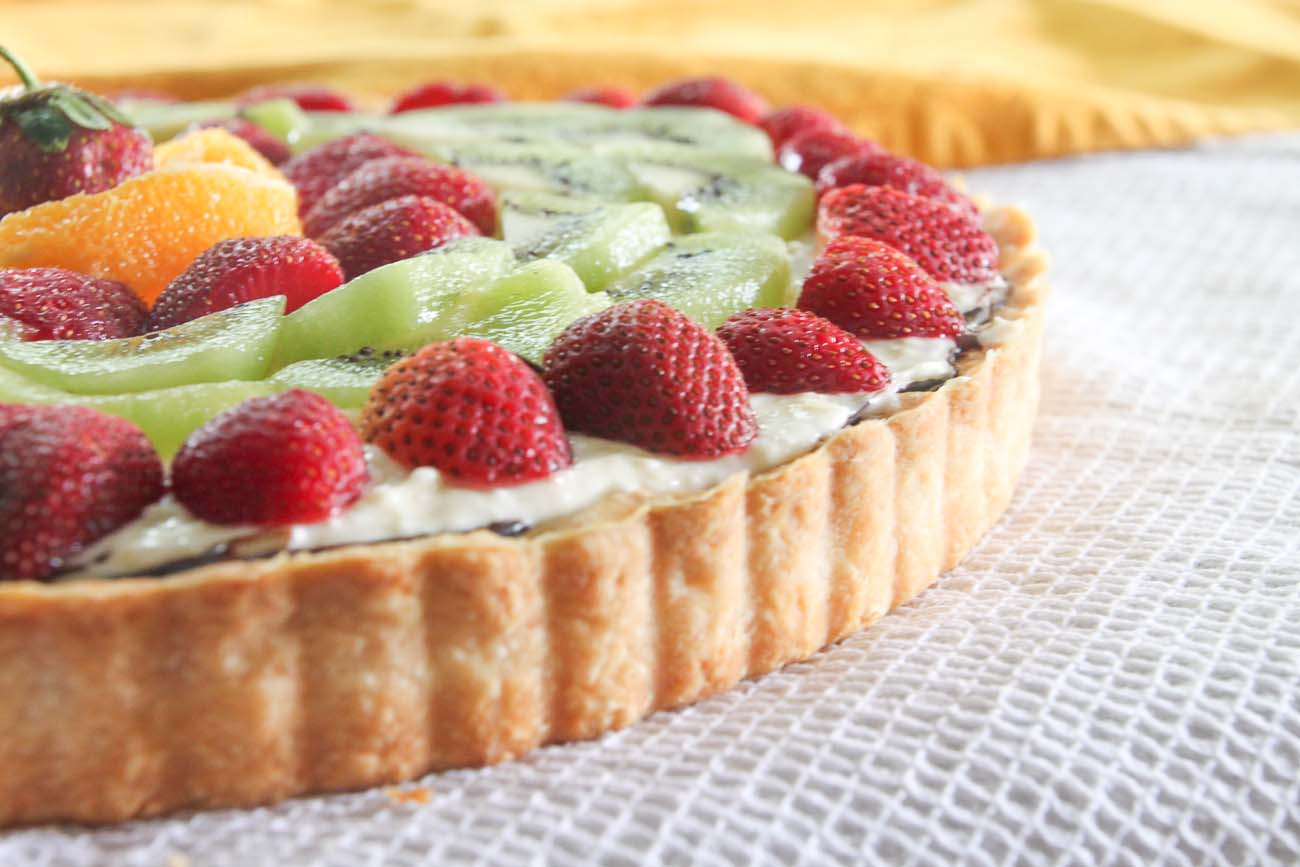 Tropical Fruit Cheesecake
