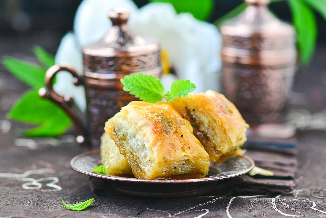 Baklava Recipe Turkish Traditional Sweet By Archana S Kitchen