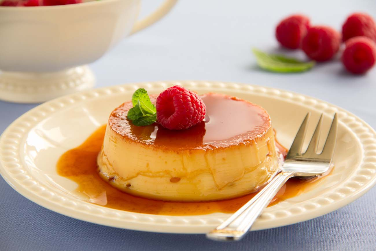 How To Make Cake With Custard Pudding