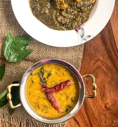 Gongura Pappu Recipe - Gongura/ Sorrel Leaves Dal