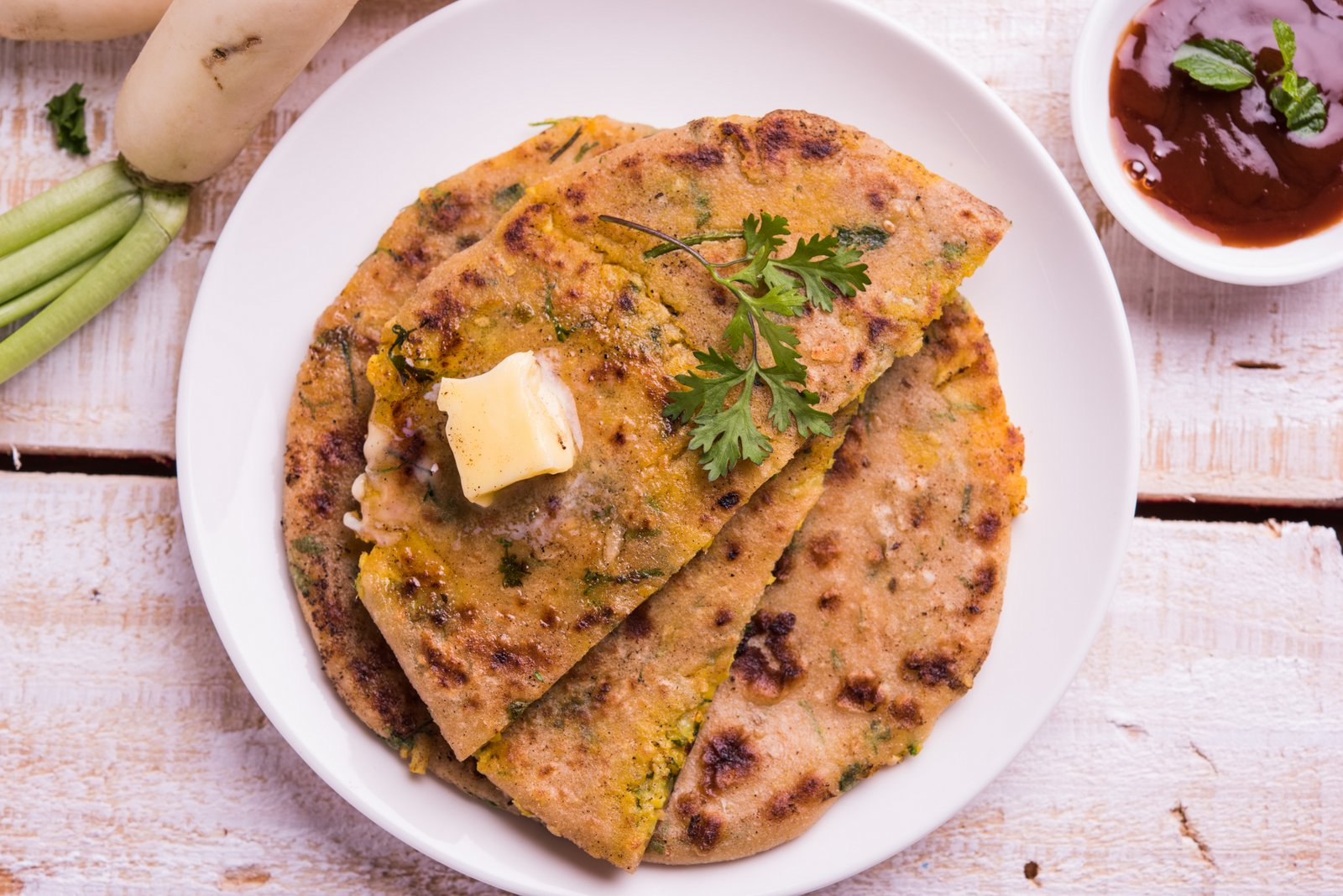 Avocado Paratha Recipe