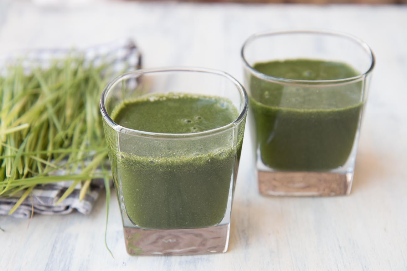 Wheat Grass Shikanji - Wheat Grass Lemonade Recipe