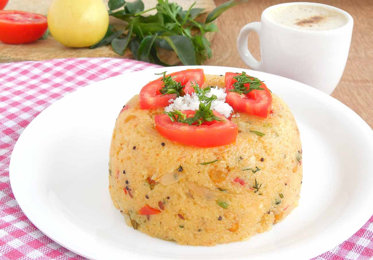 Karnataka style sooji upma recipe with coconut by archanas kitchen forumfinder Gallery