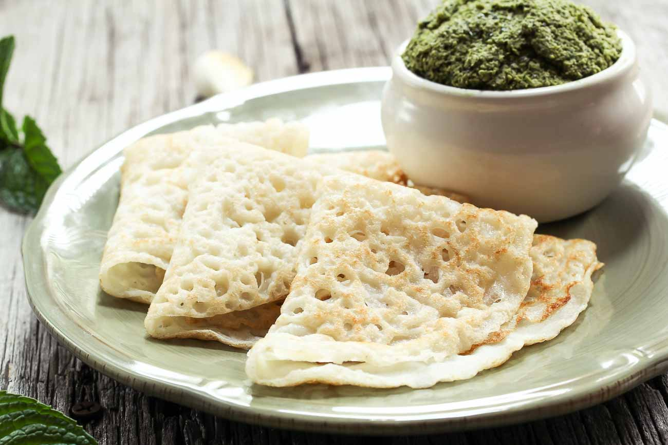 Maharashtrian ghavan recipe rice flour crepes by archanas kitchen maharashtrian ghavan recipe rice flour crepes forumfinder Image collections