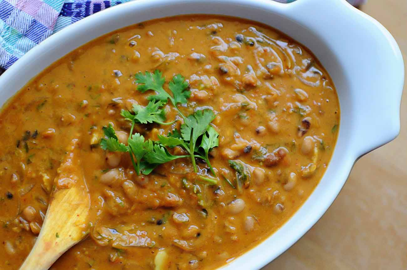 Feijoada Recipe Spicy Goan Black Eyed Peas Stew By Archana S Kitchen