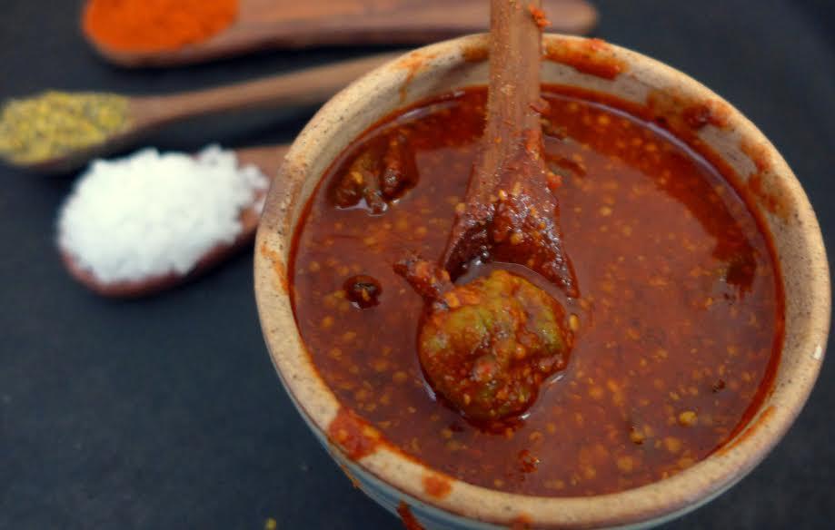 Vadu Mangai Pickle Recipe Small Raw Mango Pickle By