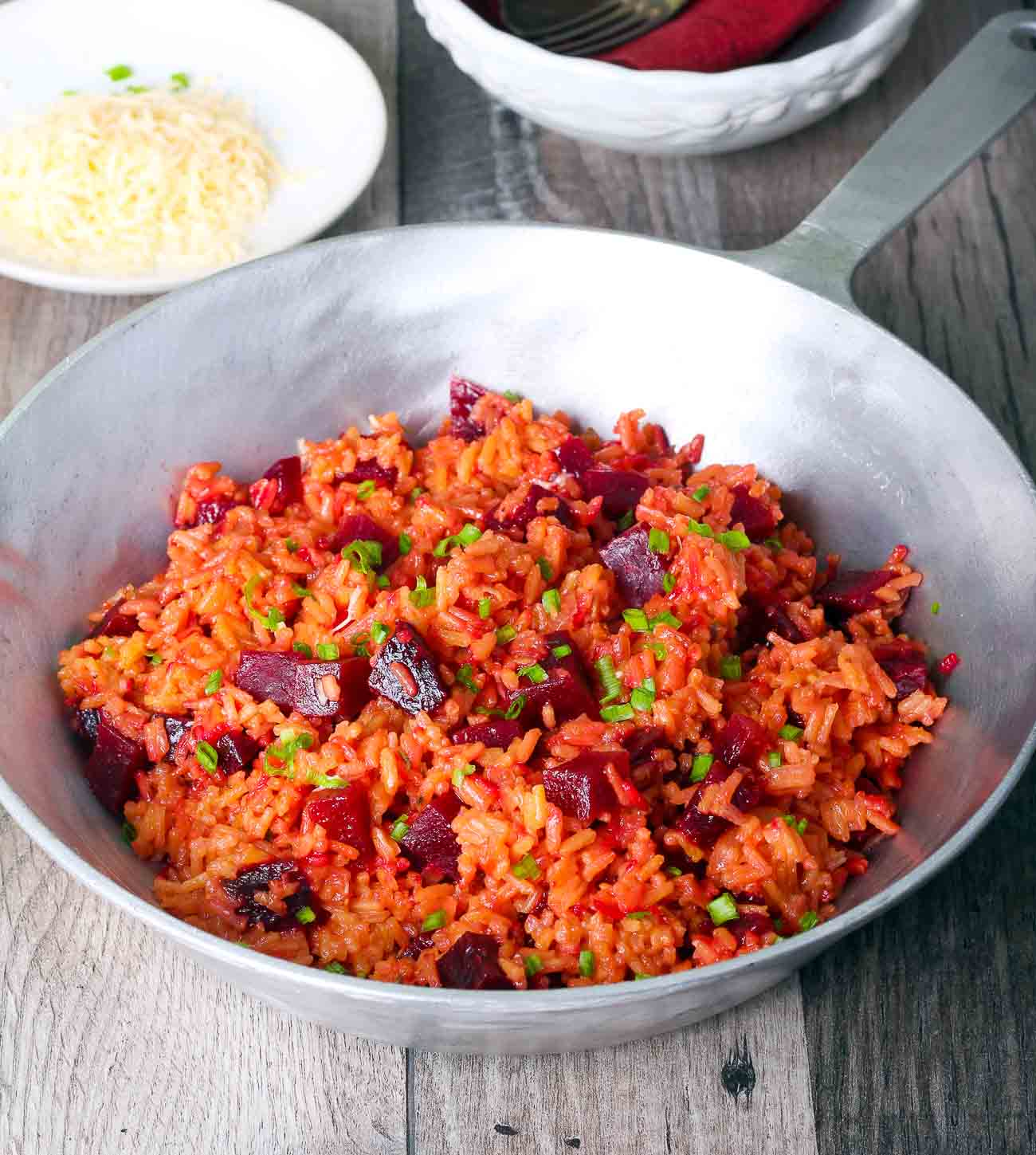 Beetroot Rice Recipe - Beetroot Pulao