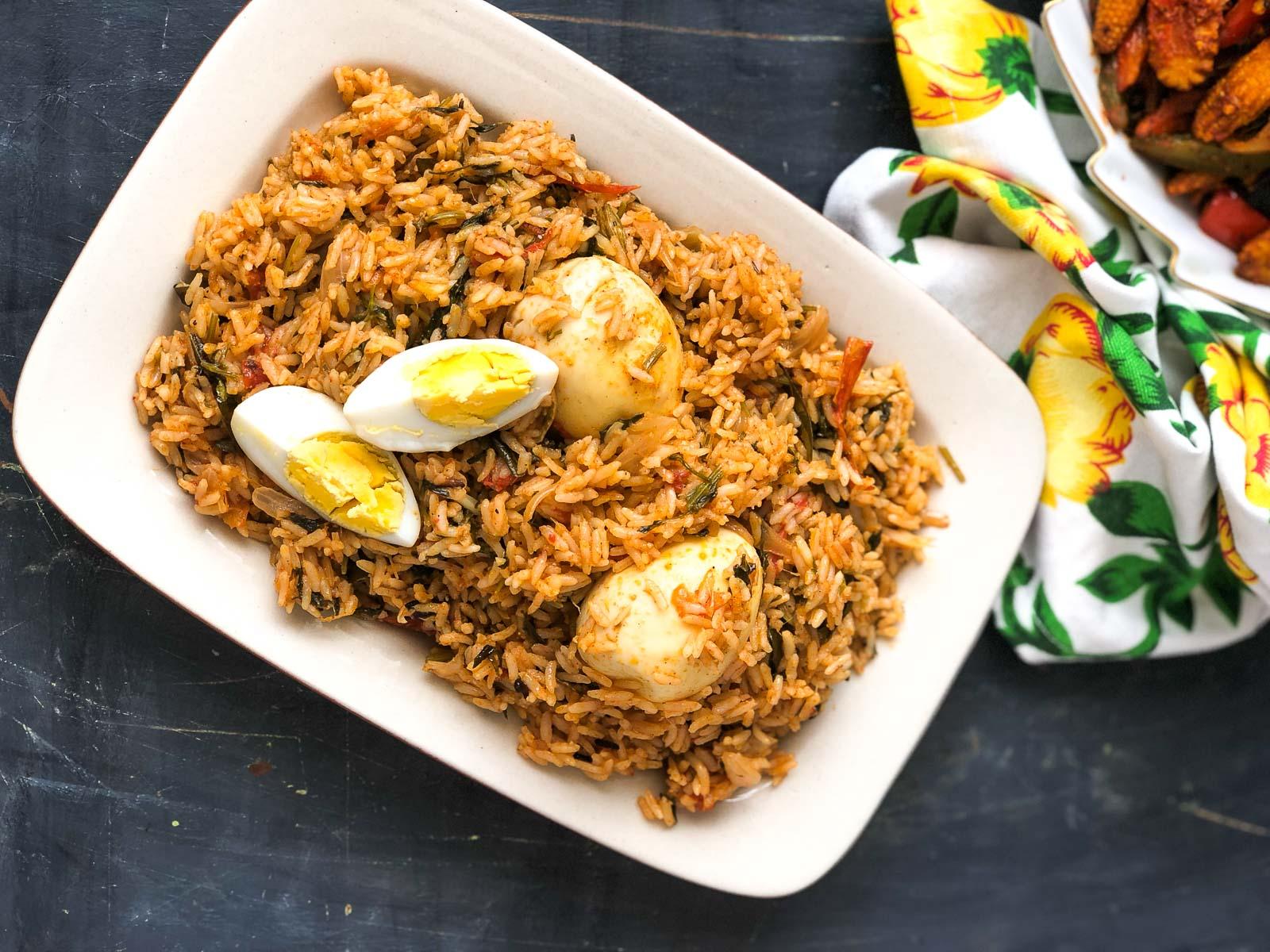 Egg Biryani Recipe With Coconut Milk 1