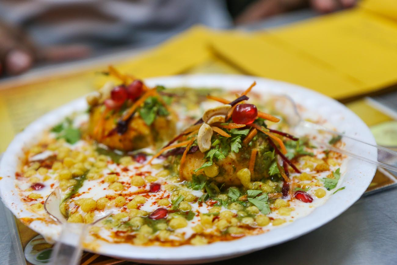 Papdi Chaat Street Food