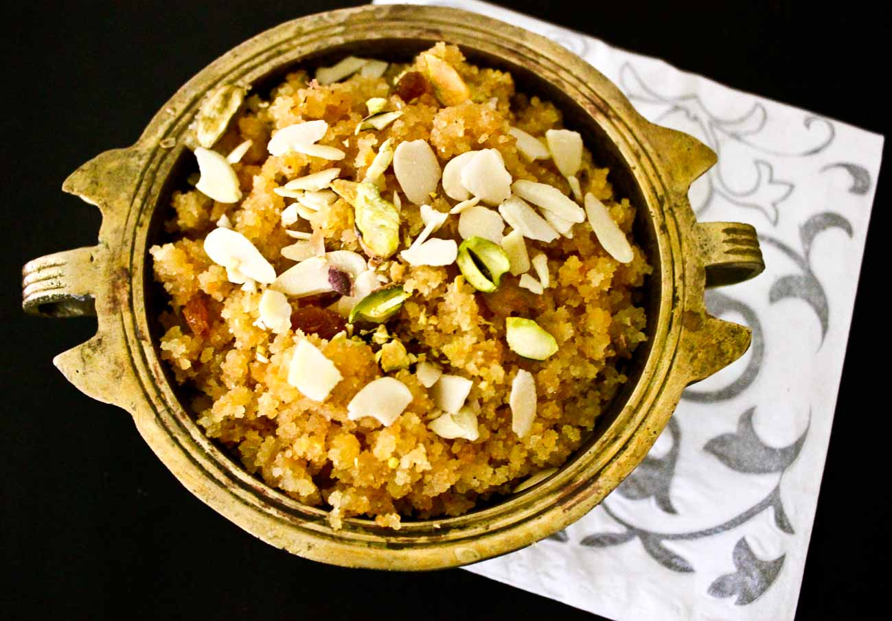 Moong Dal Halwa Recipe A Low Calorie Version By Archana