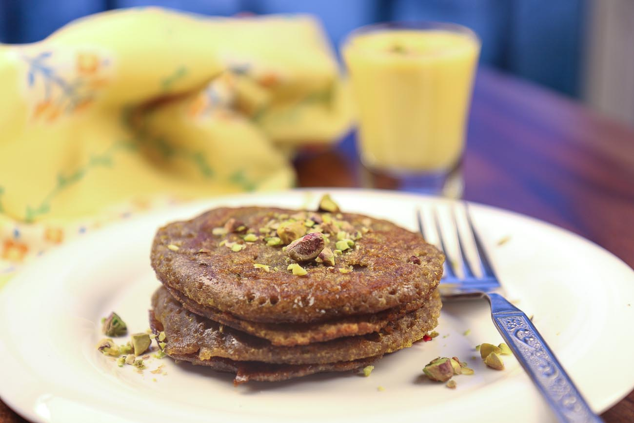 Ragi Malpua With Rabri Recipe (Indian Pancakes With Creamy Pudding)