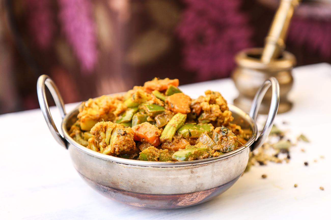 Kadai vegetable sabzi recipe mixed vegetable saute with spices by kadai vegetable sabzi recipe mixed vegetable saute with spices forumfinder Images