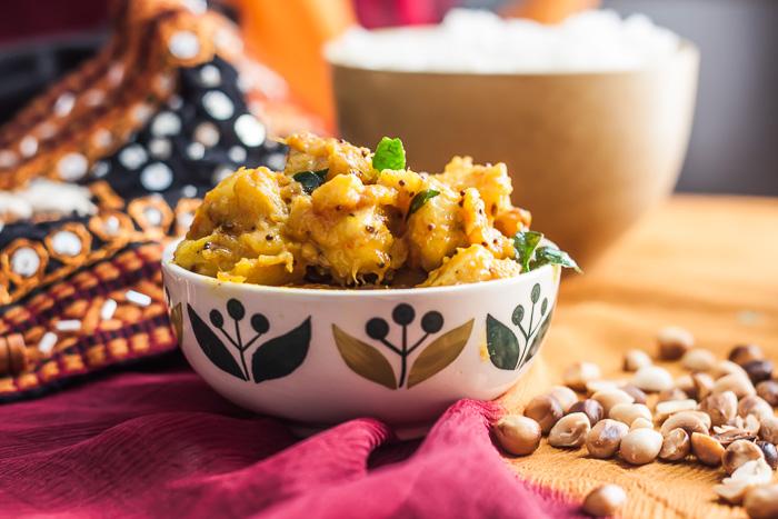 Paka kela ki sabzi recipe gujarati jain recipe by archanas kitchen paka kela ki sabzi recipe gujarati jain recipe forumfinder Choice Image