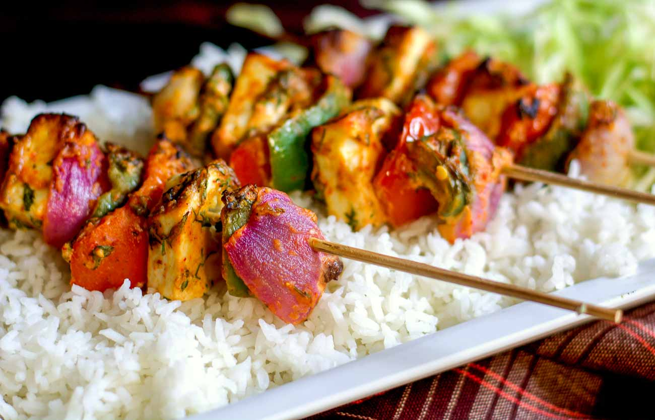 Paneer Shashlik Recipe