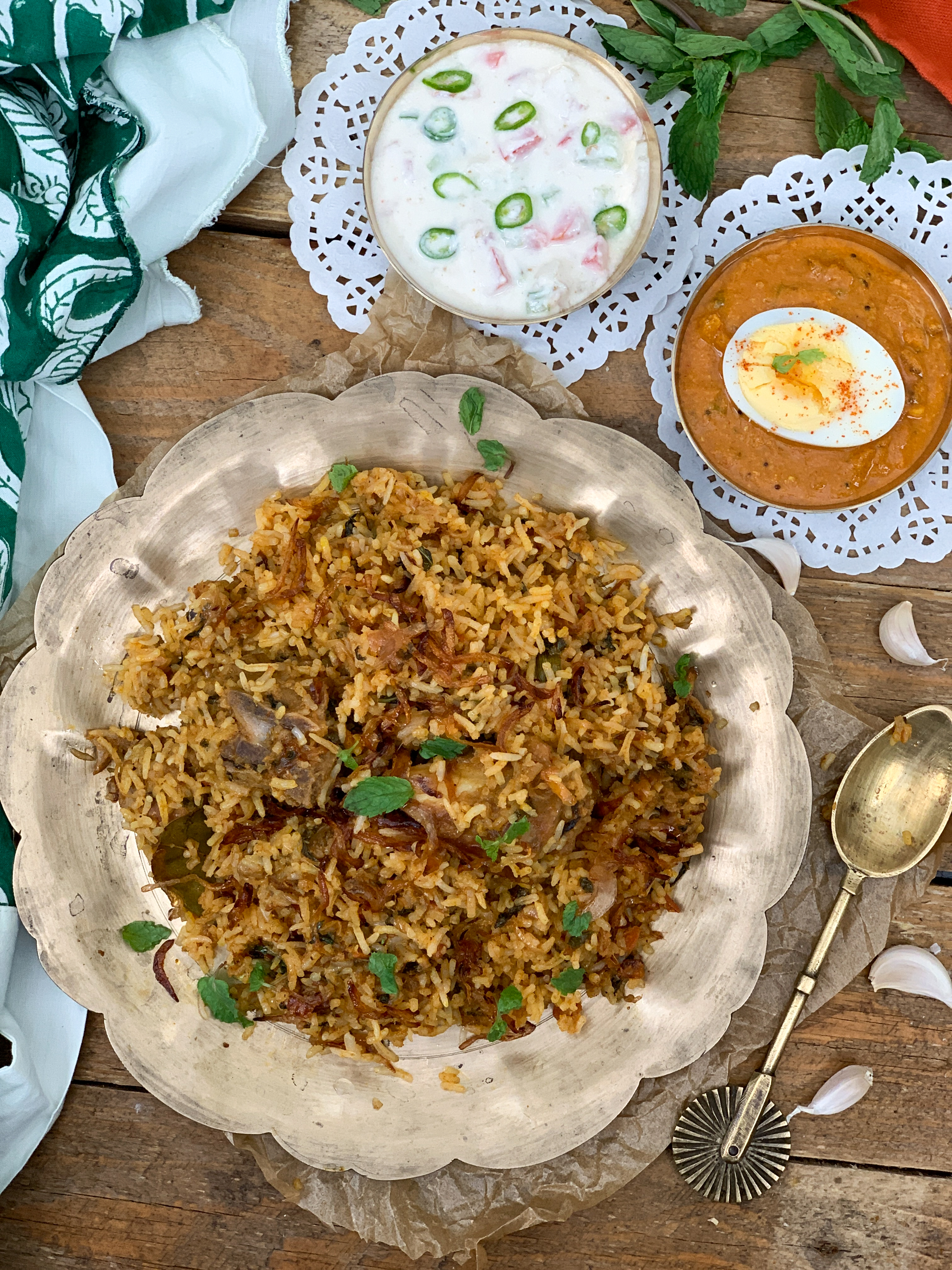 You Can't Miss This Mouthwatering Meal Of Mutton Biryani, Salan And Raita This Ramadan