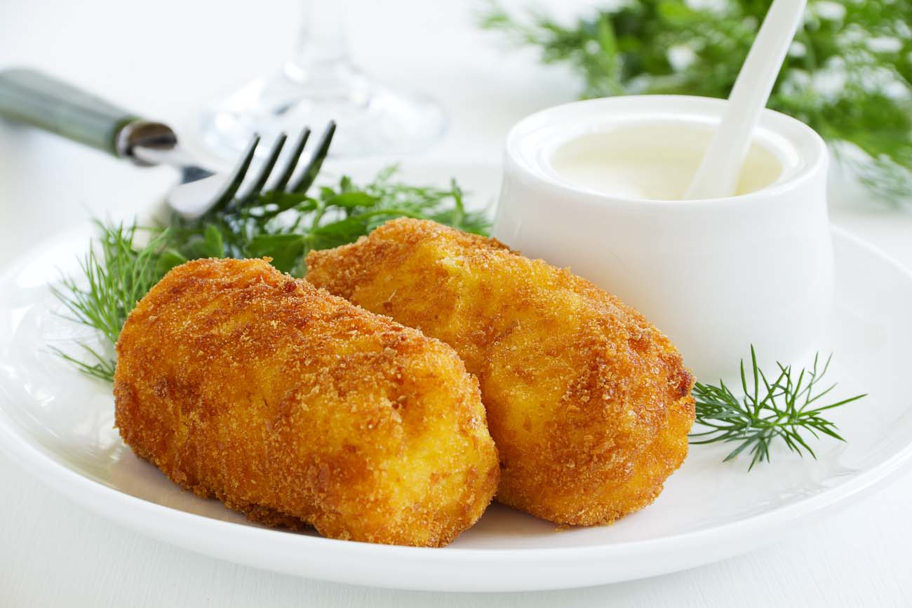Fennel Potato Croquettes With Paneer Recipe