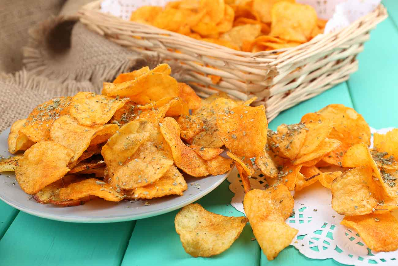 Sweet Potato Amp Rosemary Crisps Chips By Archana S Kitchen