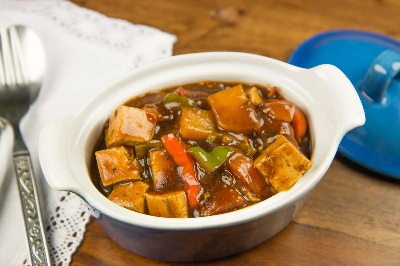Kung Pao Tofu With Vegetables Recipe