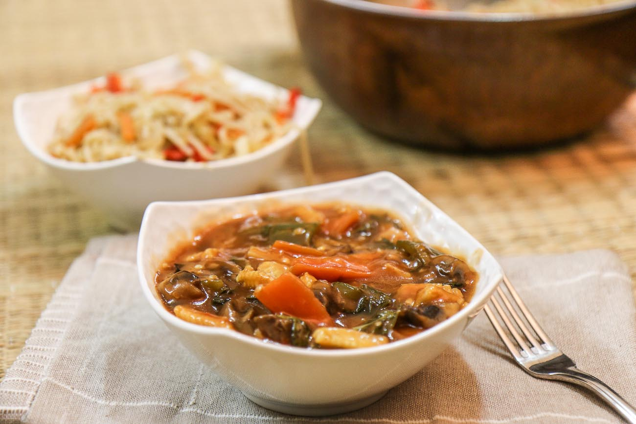 Sweet And Sour Vegetables Recipe