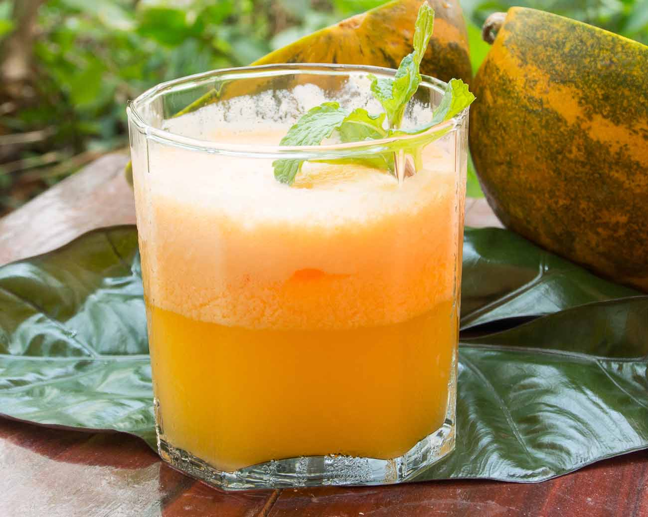 Cantaloupe Juice Recipe : 10 min healthy cantaloupe juice / musk melon juice recipe.