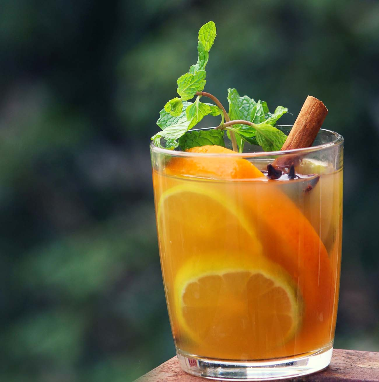 Cinnamon Spiced Orange Iced Tea Recipe