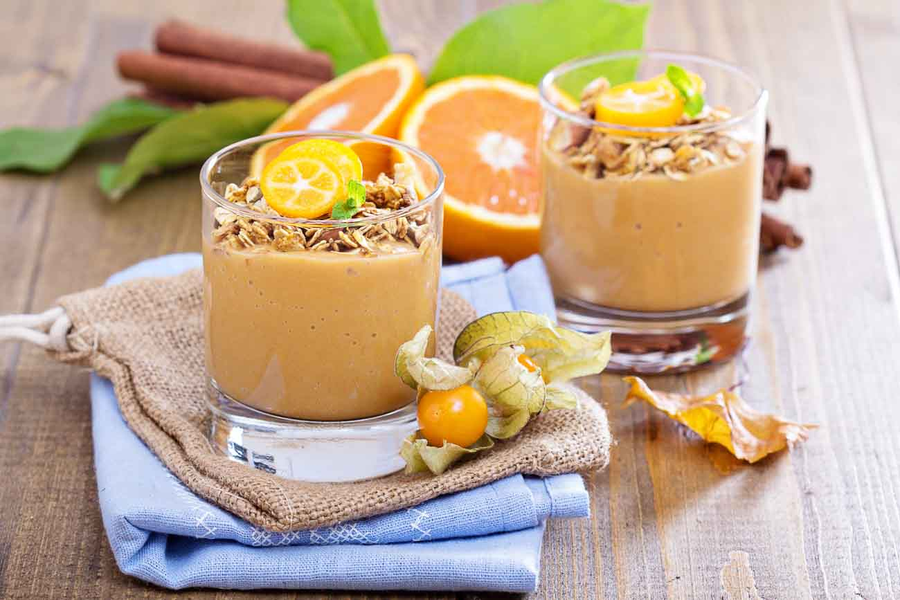 Spiced Pumpkin Smoothie Recipe