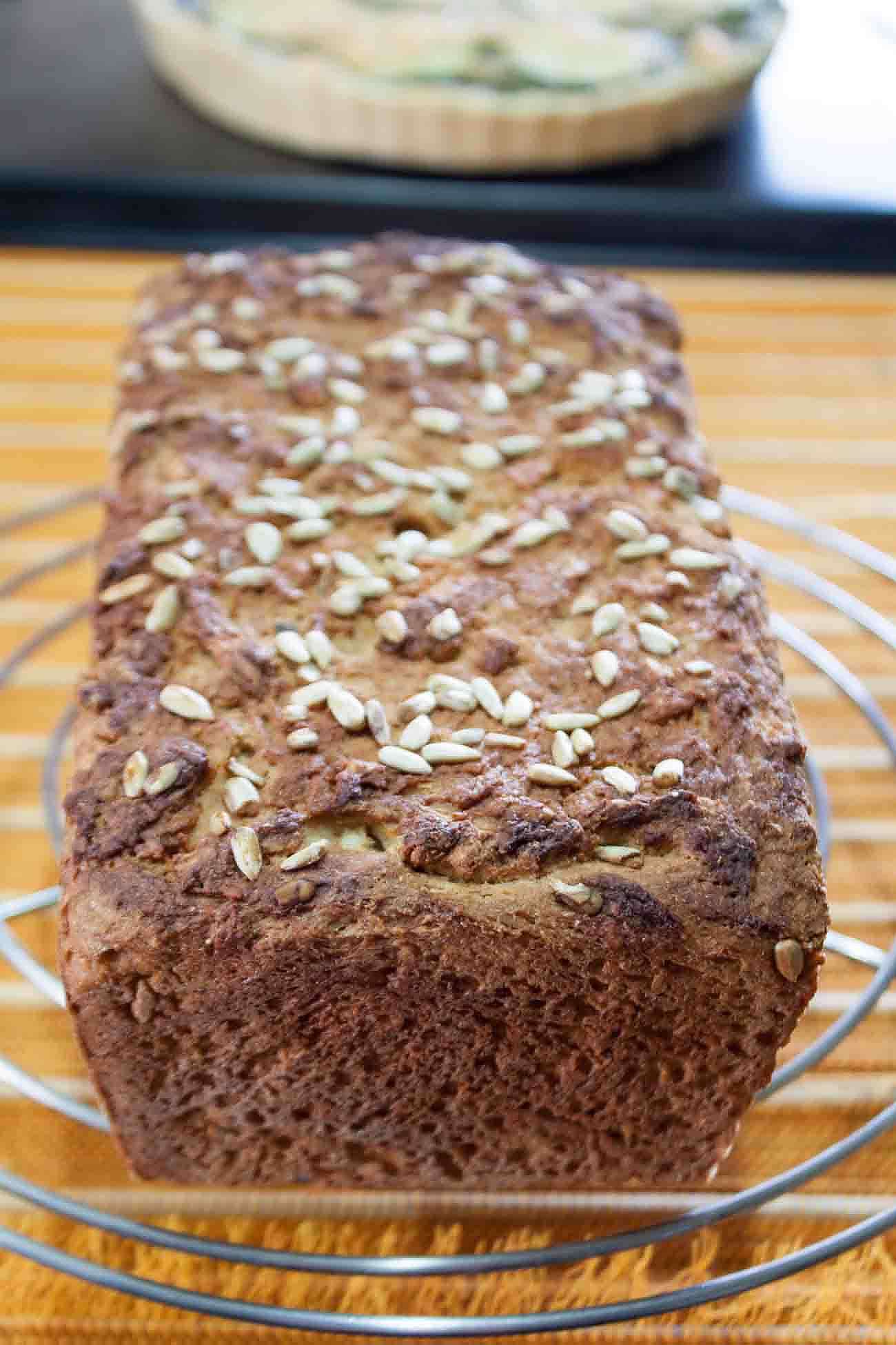 Whole Wheat Sunflower Seed Bread Recipe