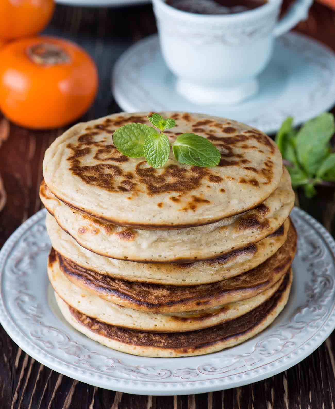 Oatmeal Pancake Recipe With Orange