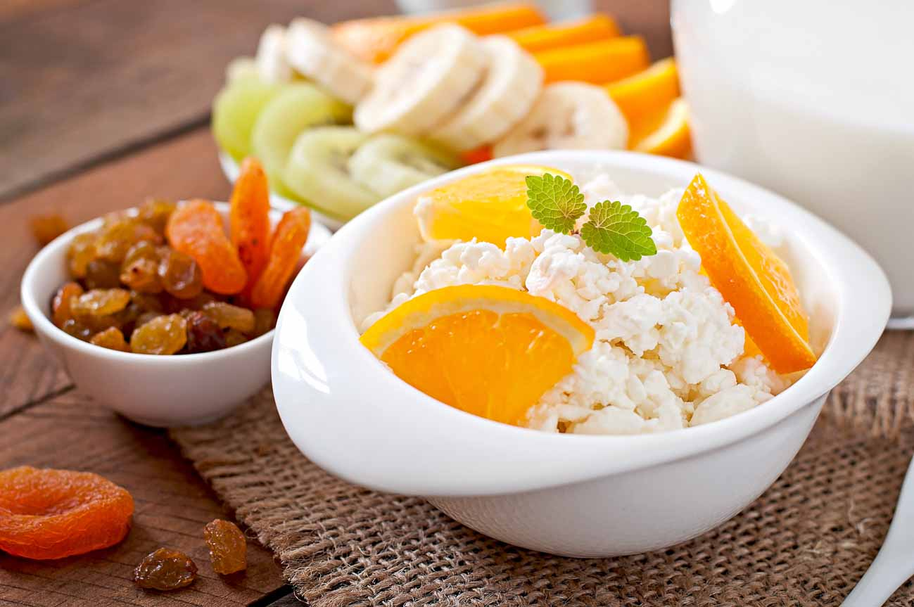 Oranges With Cottage Cheese Recipe -Sunshine in a Bowl