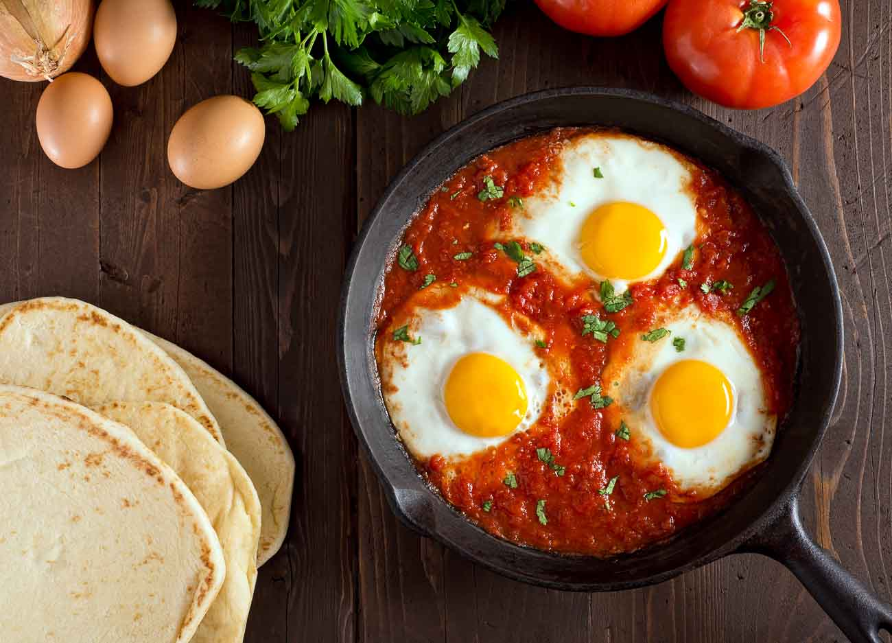 Quick And Easy Baked Beans Shakshuka Recipe