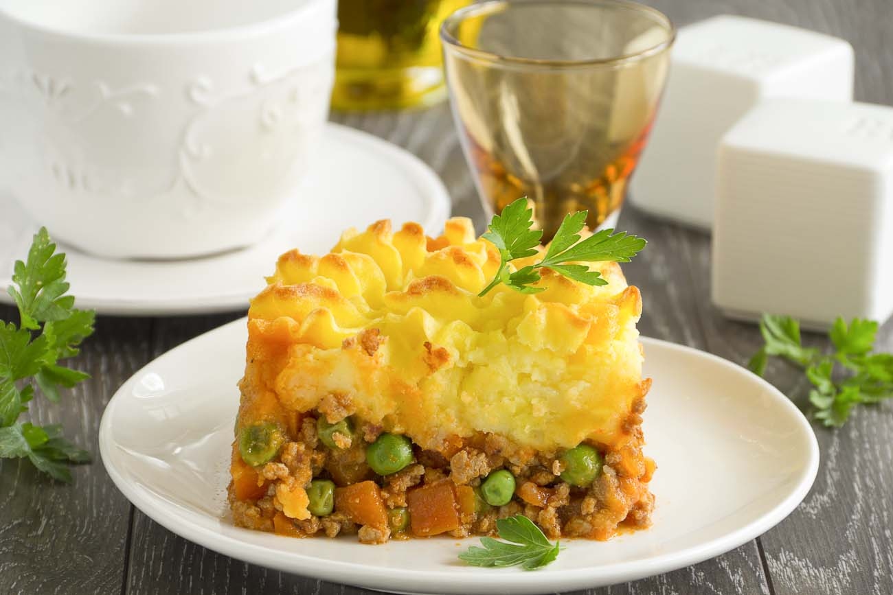 Rustic Cottage Pie With Mushroom Sauce Recipe