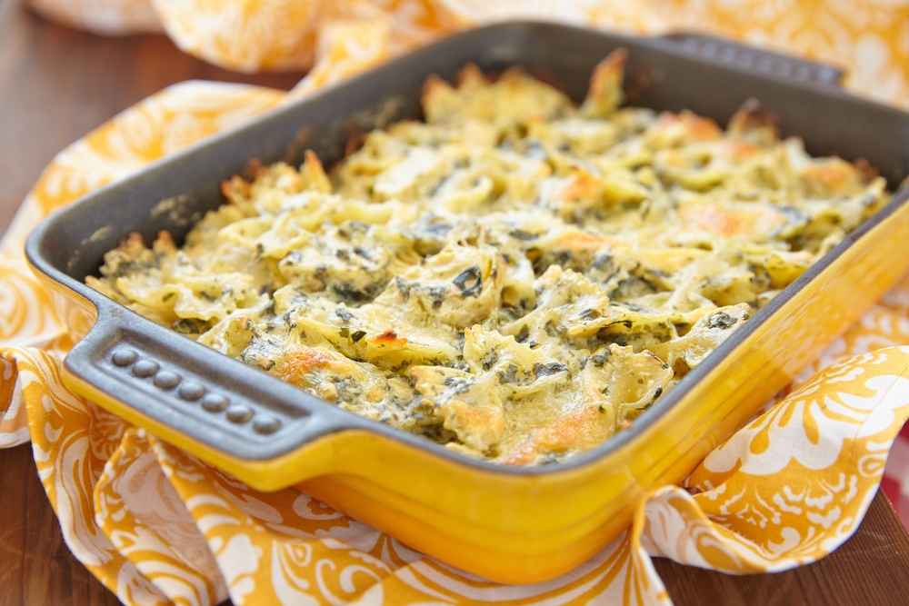 Baked Pasta Recipe With Spinach And Artichoke