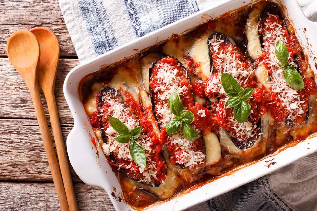 italian recipe eggplant Baked
