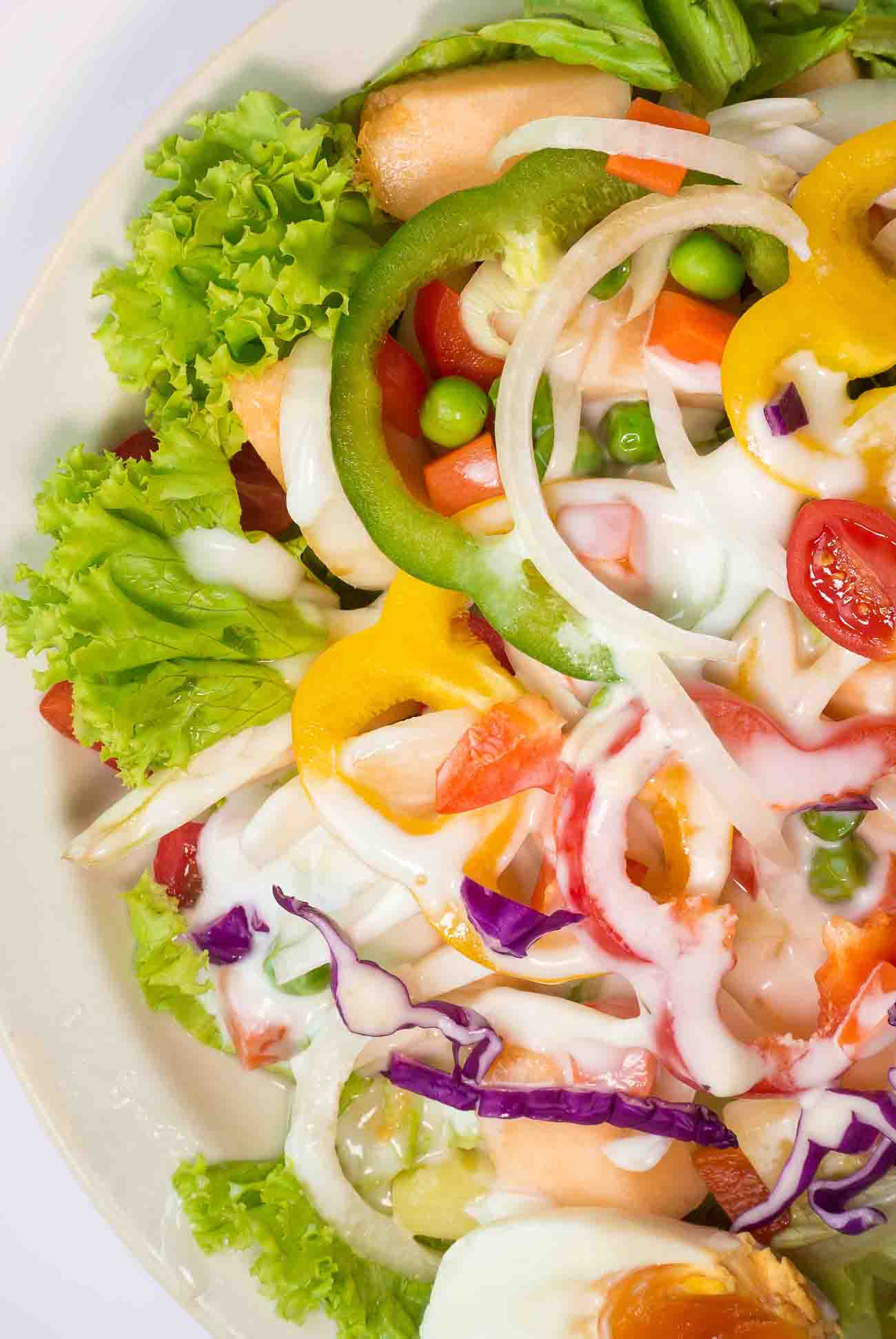 Summer Lettuce Salad Recipe by Archana's Kitchen