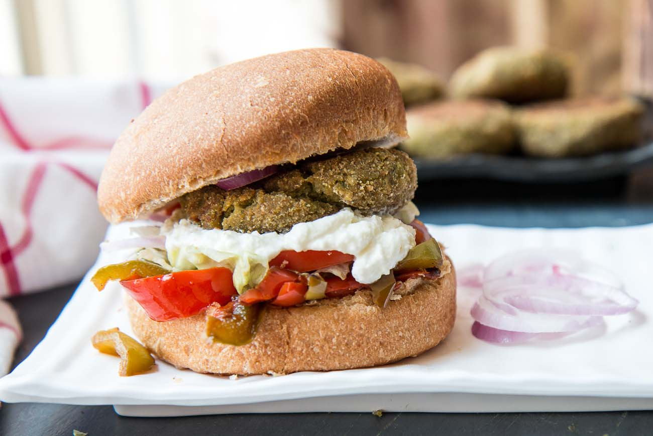 Veggie Burger Recipe With Spinach Cauliflower And Oats Patty
