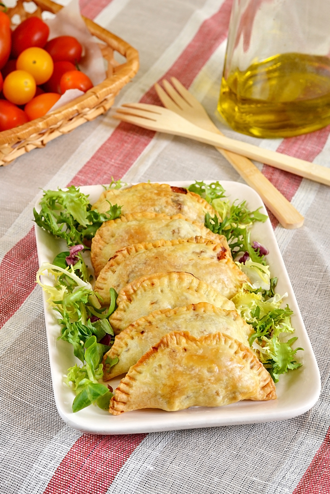 Grilled Vegetable Empanadas Recipe
