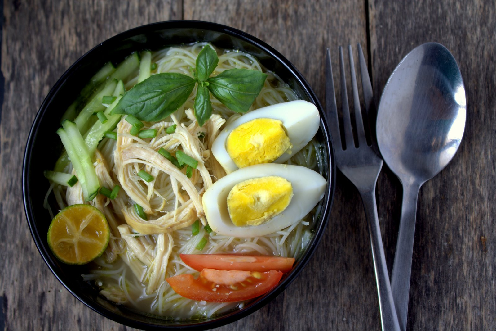 Chicken And Egg Soup Recipe