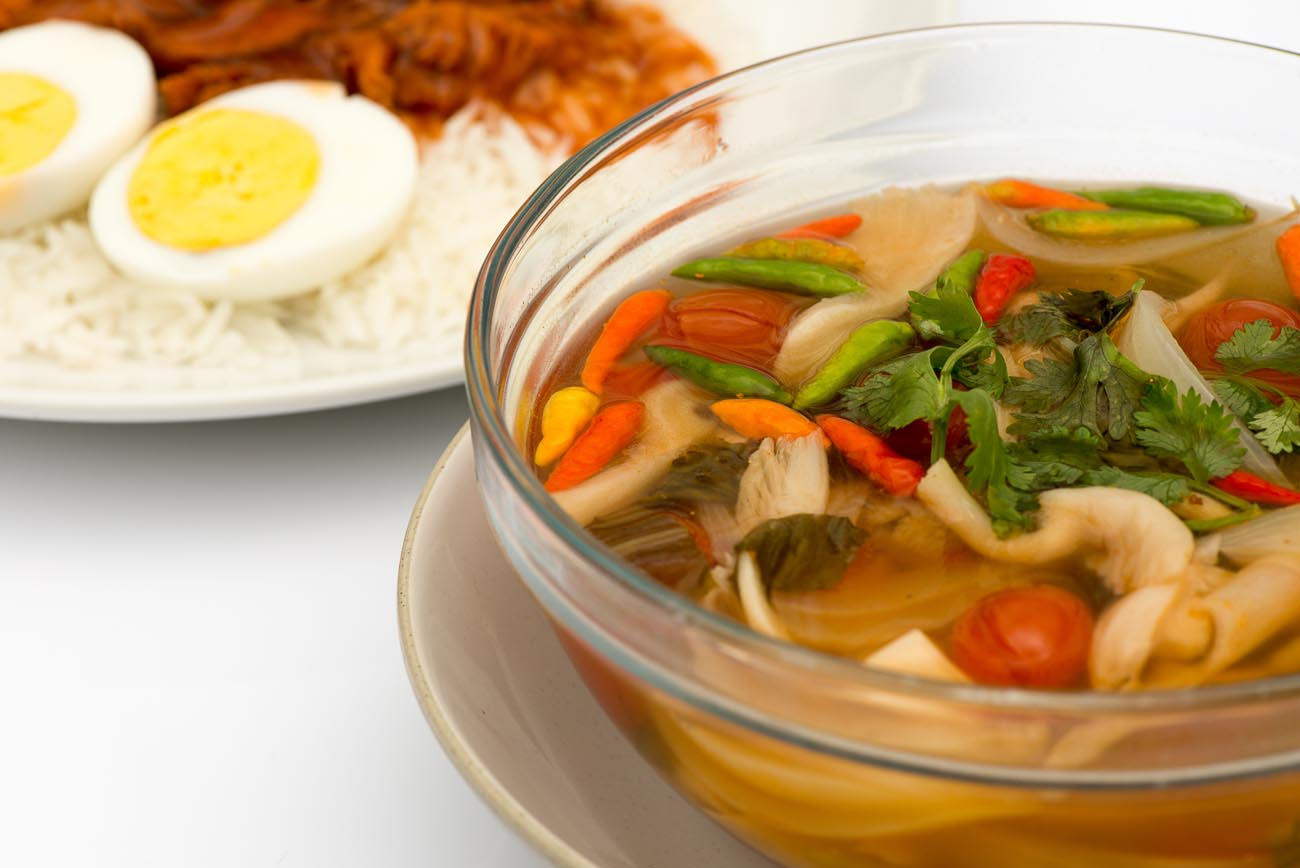 Vegetarian Tom Yum Soup Recipe By Archana S Kitchen